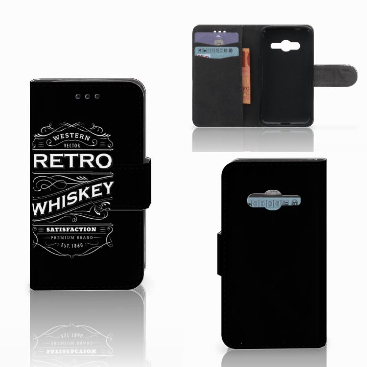 Samsung Galaxy Trend 2 Book Cover Whiskey