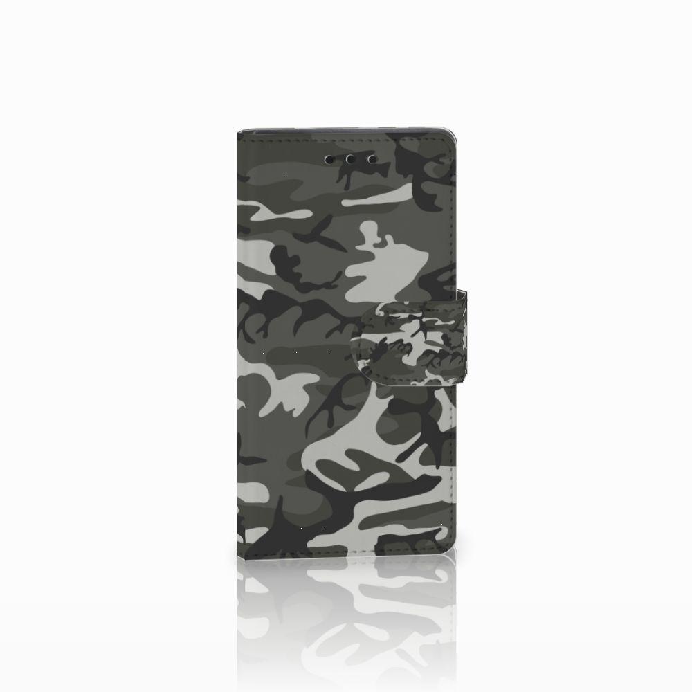 Sony Xperia Z5 Compact Uniek Boekhoesje Army Light