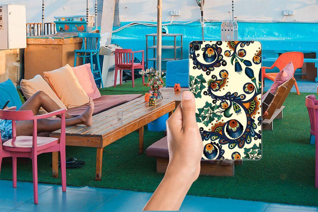 TPU Case Samsung Galaxy Tab A 8.0 (2019) Barok Flower