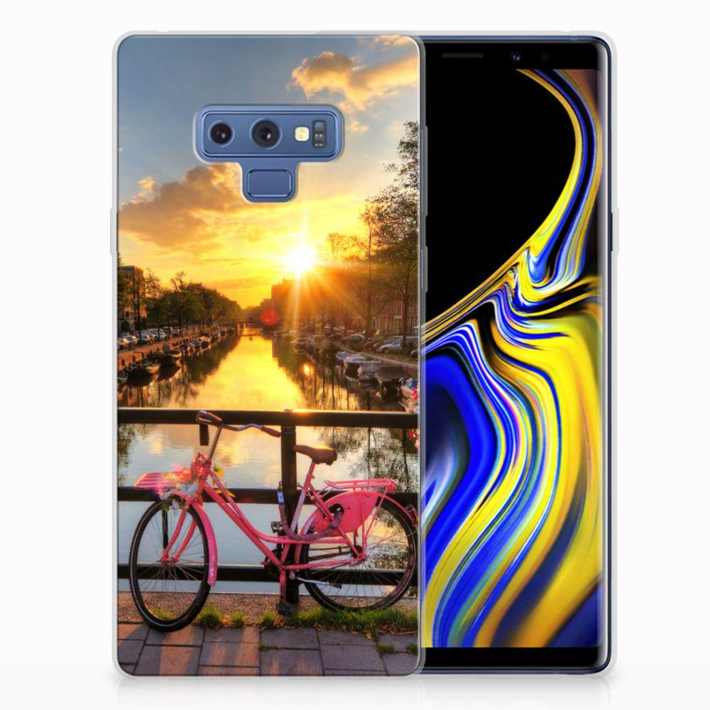 Samsung Galaxy Note 9 Uniek TPU Hoesje Amsterdamse Grachten