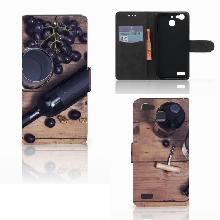 Huawei P8 Lite Smart (GR3) Book Cover Wijn