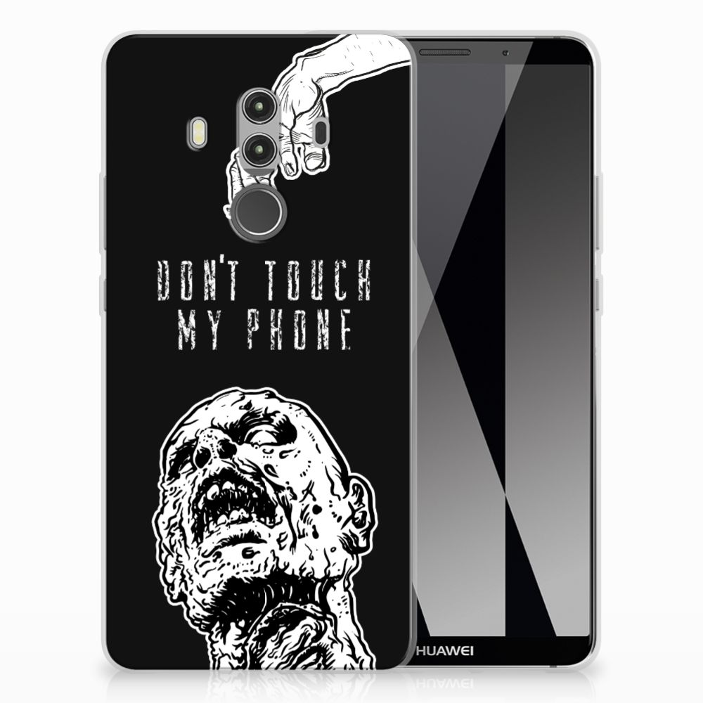 Silicone-hoesje Huawei Mate 10 Pro Zombie