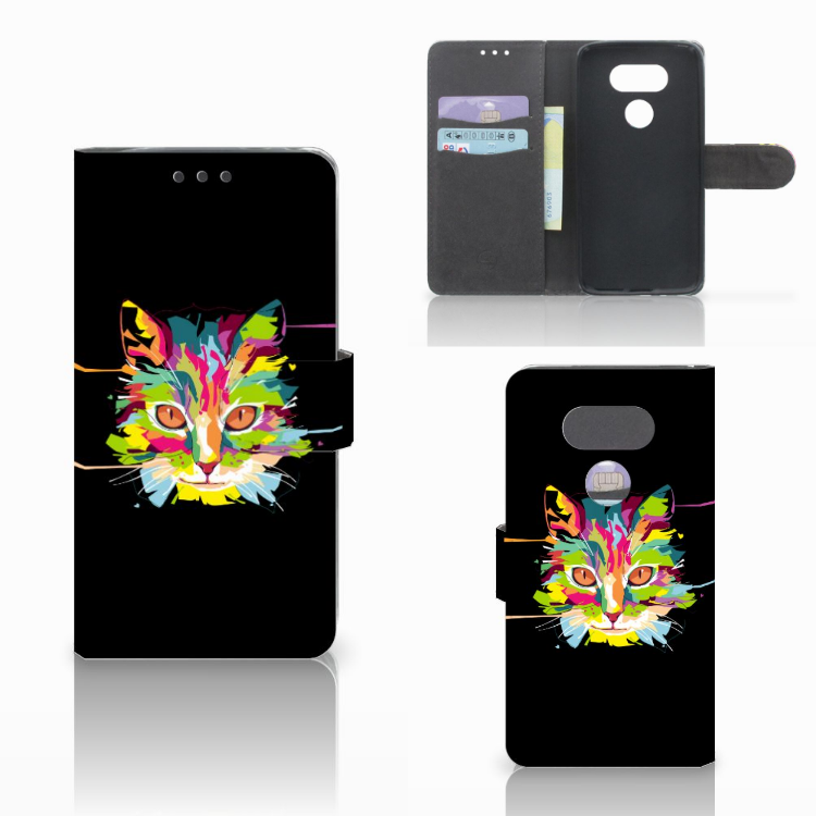 LG G5 Leuke Hoesje Cat Color