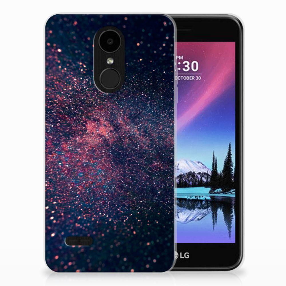 LG K4 (2017) TPU Hoesje Stars