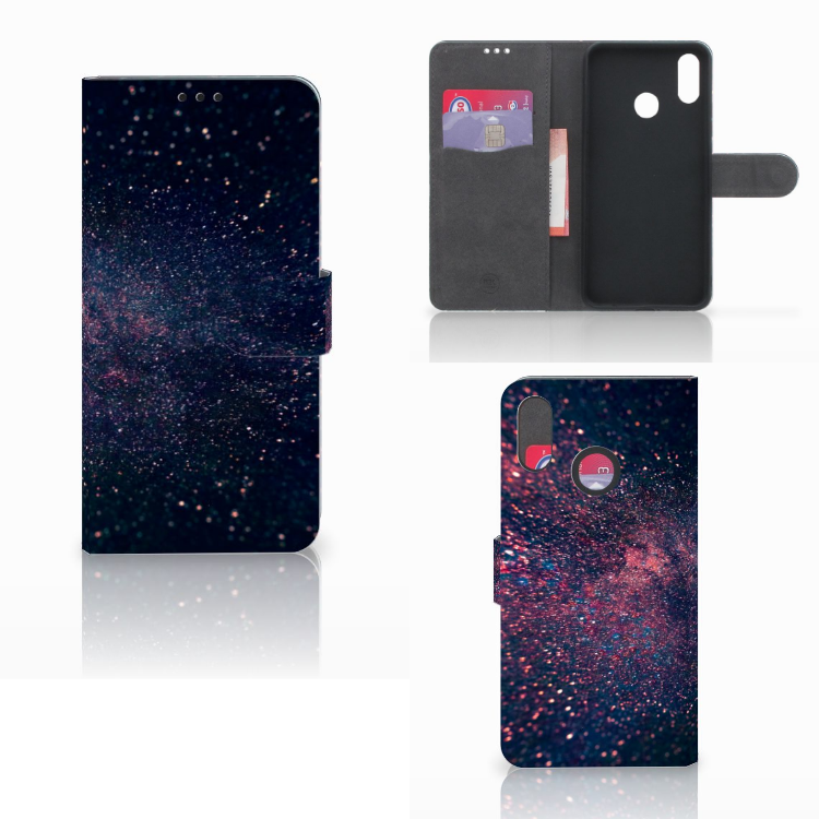 Huawei P Smart Plus Bookcase Stars
