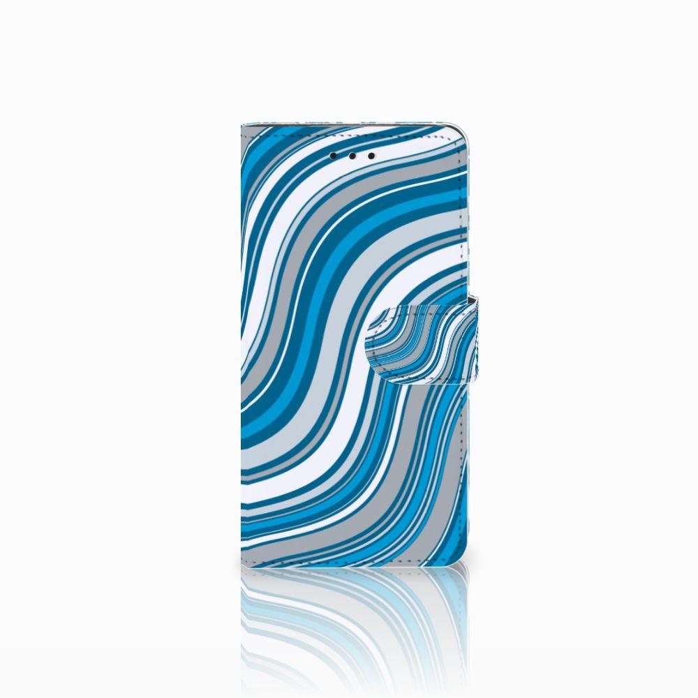 Huawei Y5 2018 Telefoon Hoesje Waves Blue