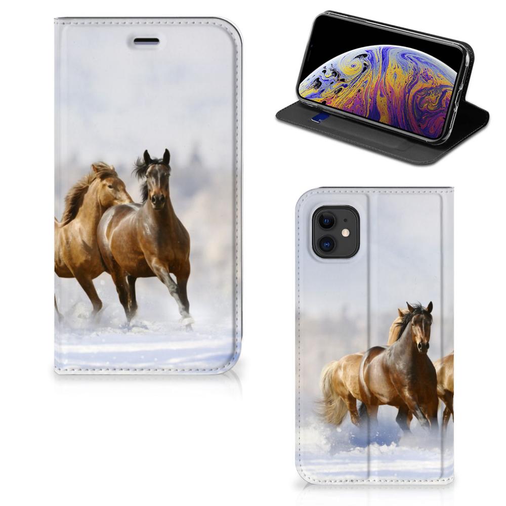 Apple iPhone 11 Hoesje maken Paarden