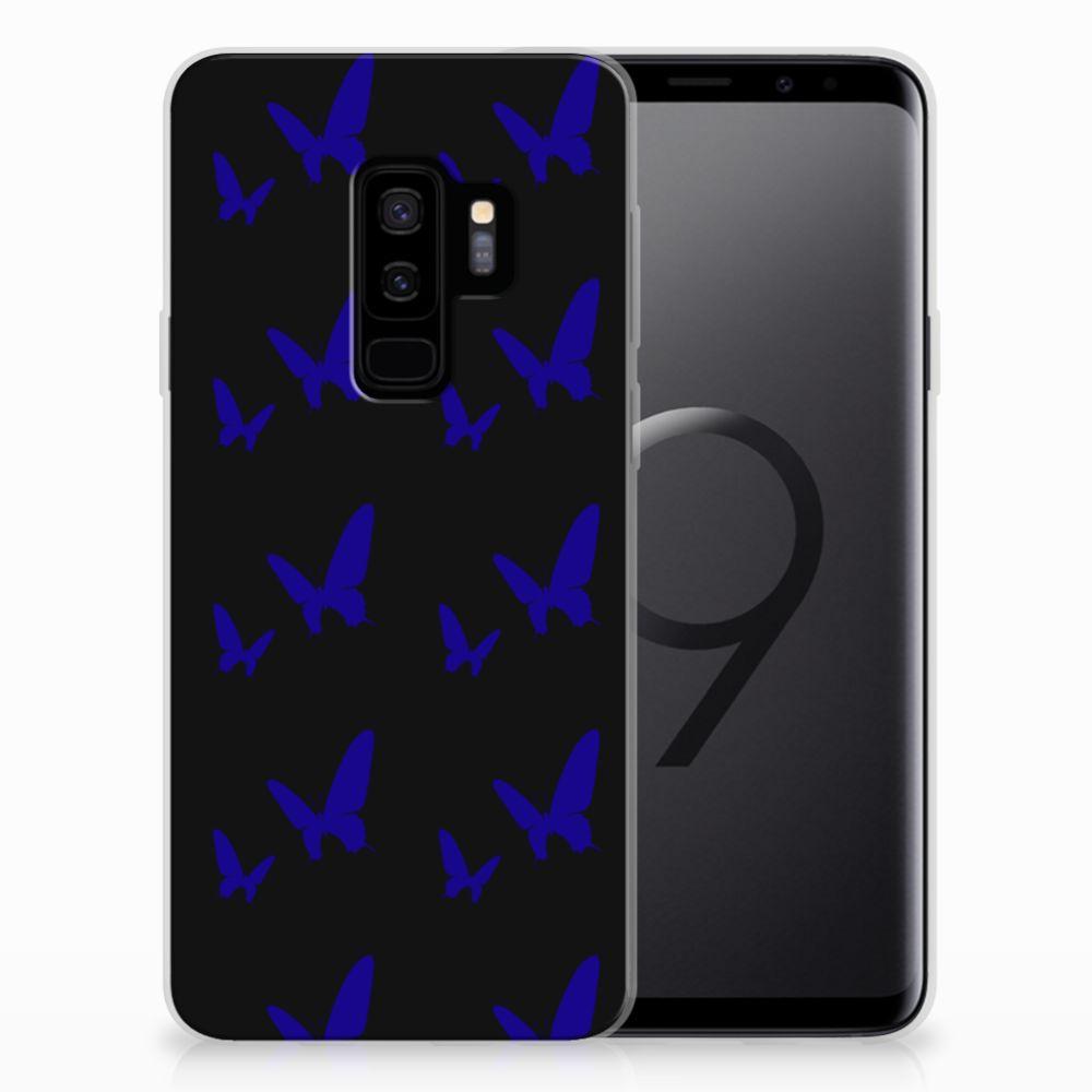 Samsung Galaxy S9 Plus TPU bumper Vlinder Patroon