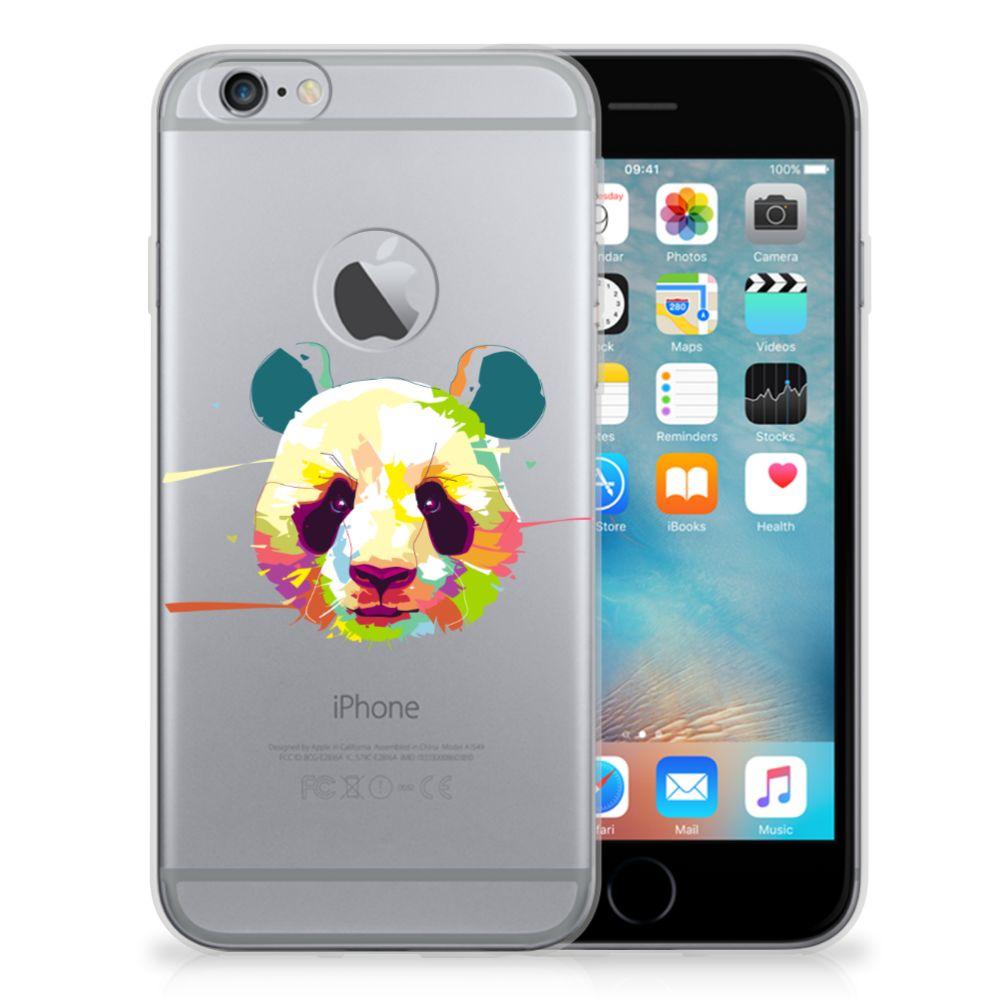 Apple iPhone 6 Plus | 6s Plus Telefoonhoesje met Naam Panda Color