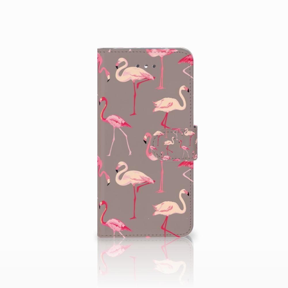 LG Nexus 5X Uniek Boekhoesje Flamingo