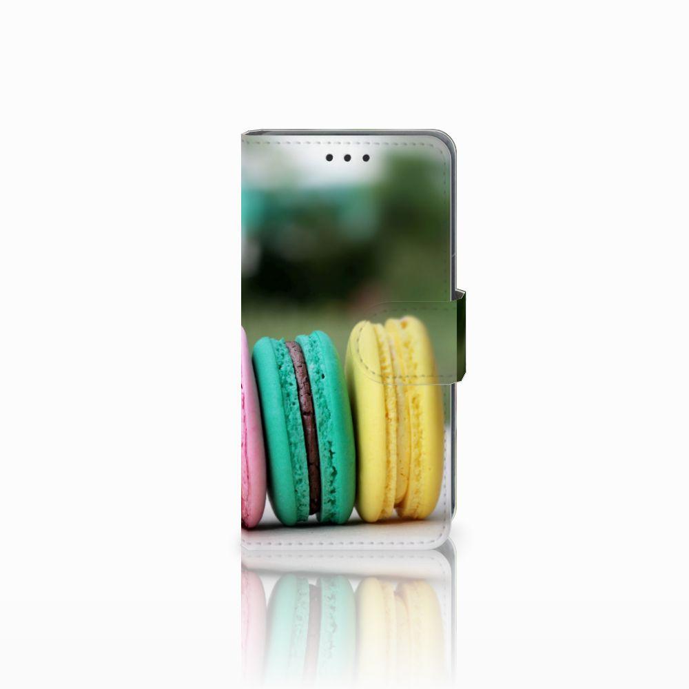 Nokia Lumia 630 Uniek Hoesje met Opbergvakjes Macarons