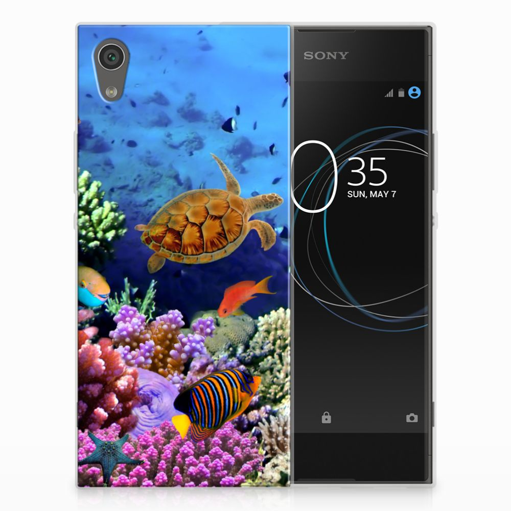 Sony Xperia XA1 TPU Hoesje Design Vissen