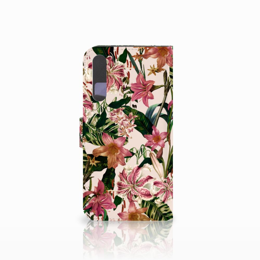 Huawei P20 Pro Hoesje Flowers