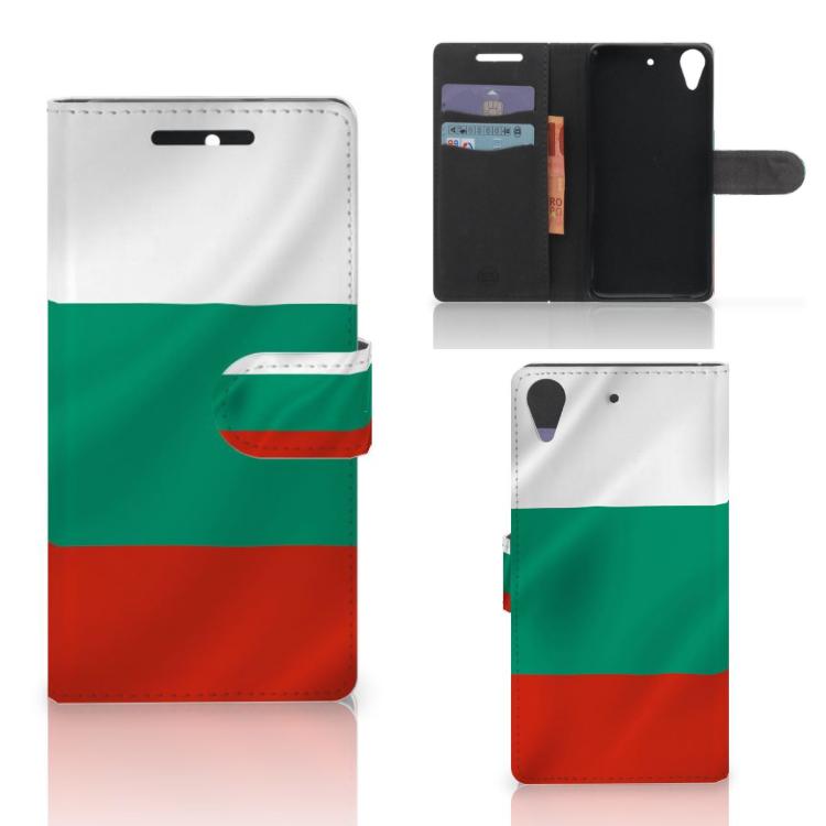 HTC Desire 628 Bookstyle Case Bulgarije