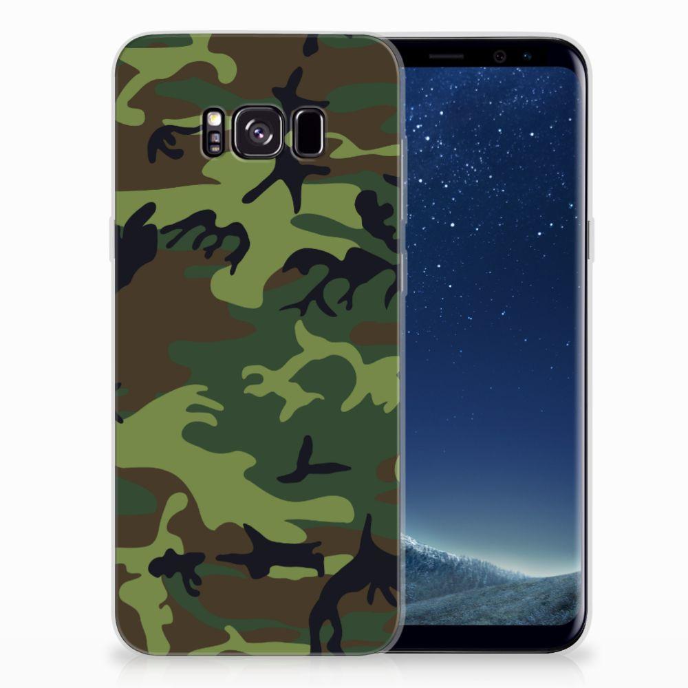 Samsung Galaxy S8 Plus TPU bumper Army Dark