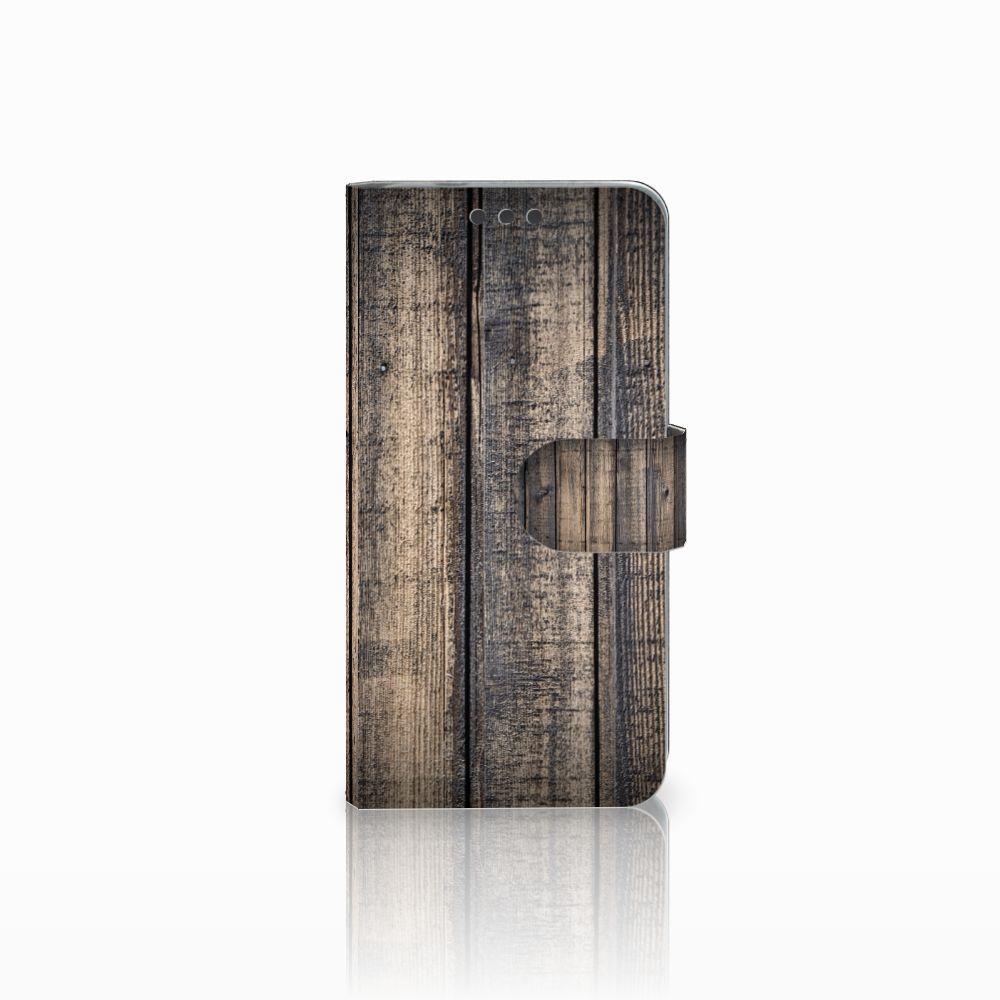 Microsoft Lumia 650 Boekhoesje Design Steigerhout