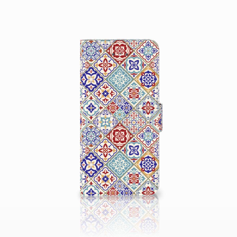LG Nexus 5X Uniek Boekhoesje Tiles Color