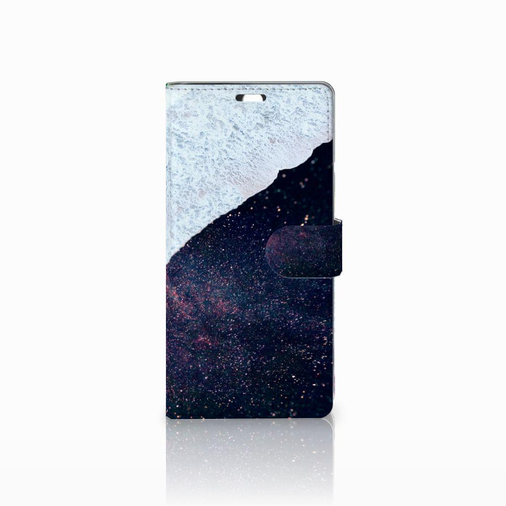 Sony Xperia C5 Ultra Bookcase Sea in Space