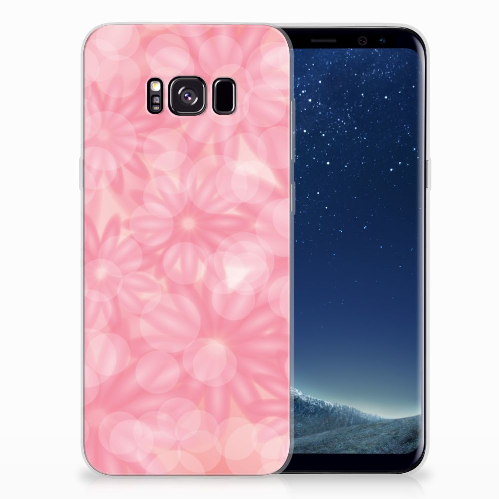 Samsung Galaxy S8 Plus TPU Case Spring Flowers