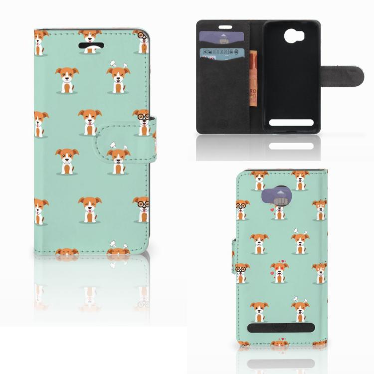 Huawei Y3 2 | Y3 II Telefoonhoesje met Pasjes Pups