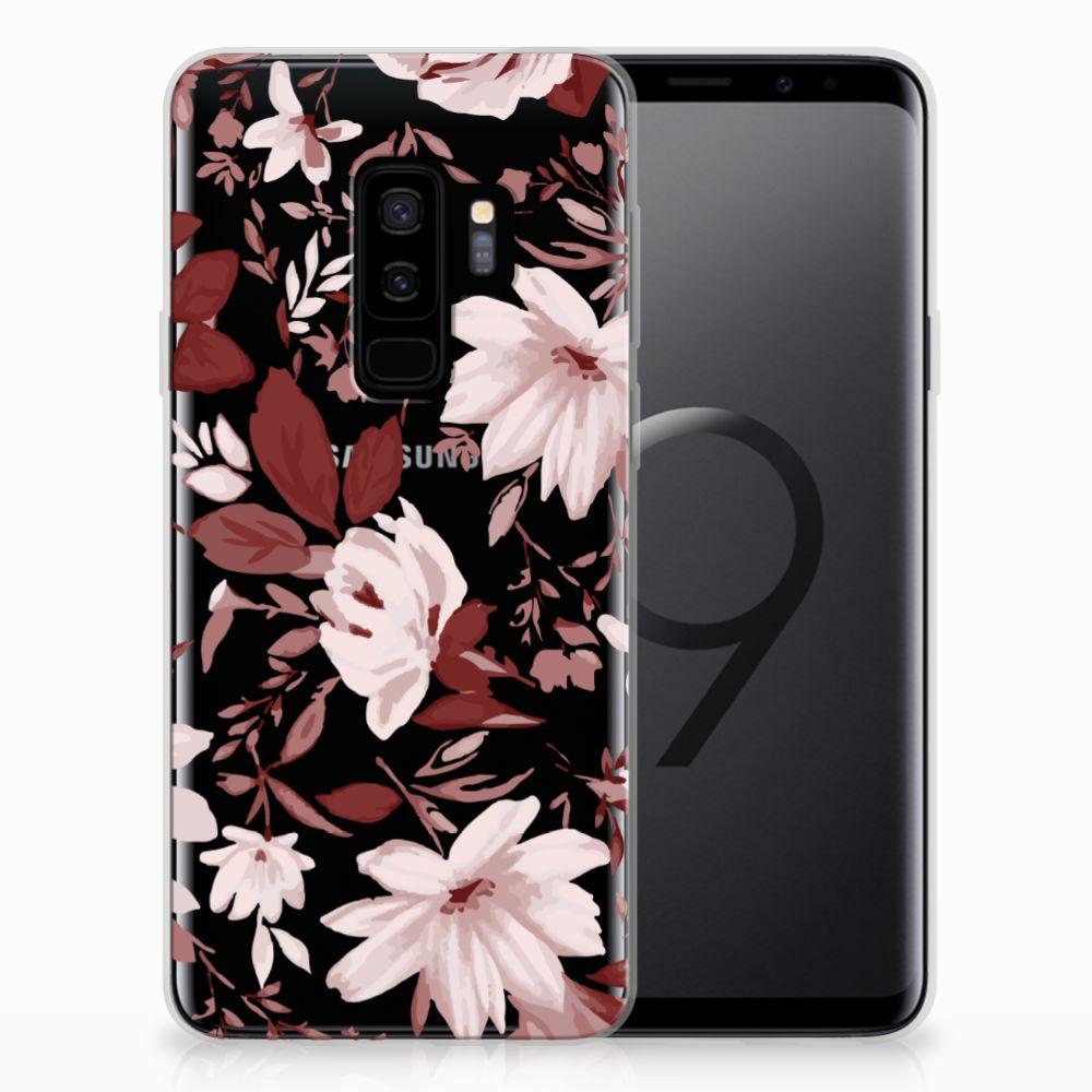 Hoesje maken Samsung Galaxy S9 Plus Watercolor Flowers