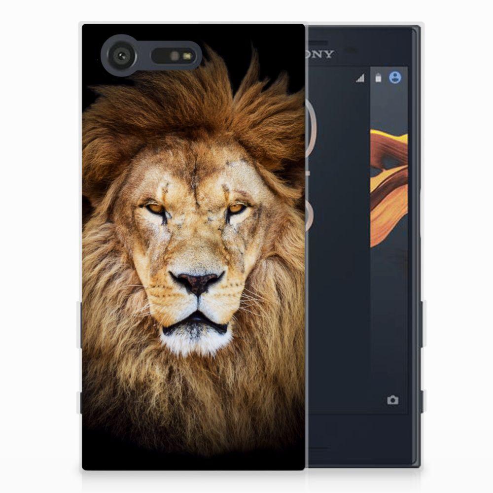 Sony Xperia X Compact TPU Hoesje Design Leeuw