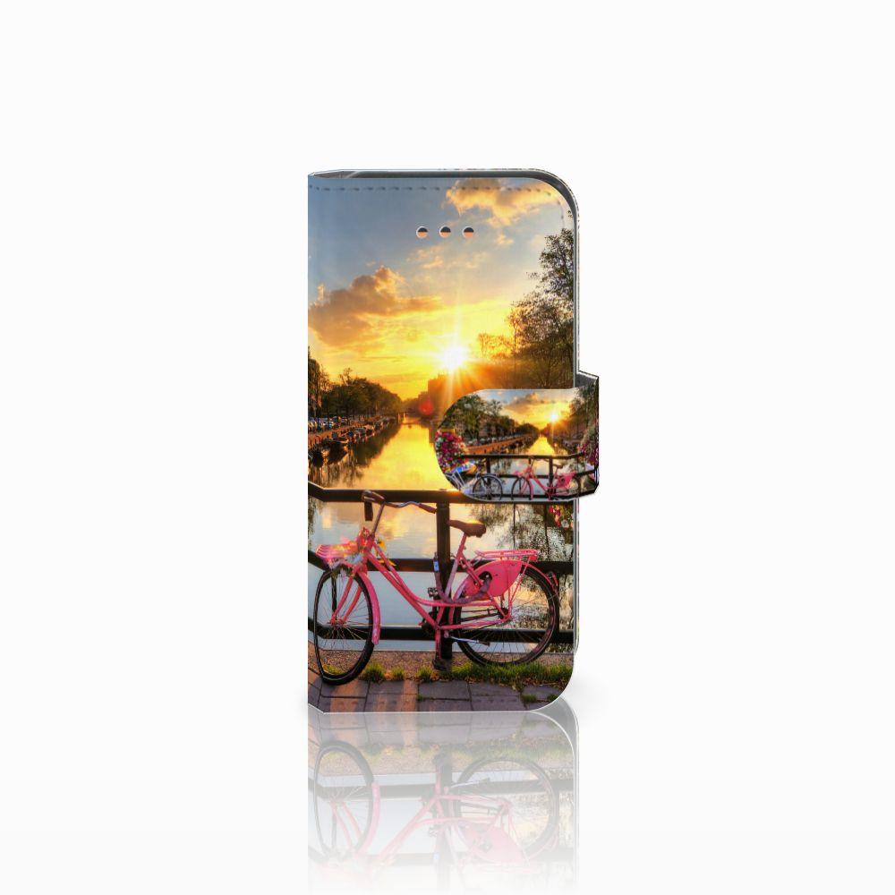 Apple iPhone 5C Uniek Boekhoesje Amsterdamse Grachten