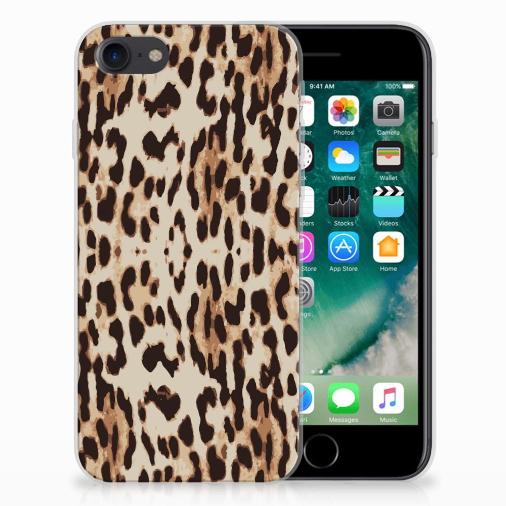 Apple iPhone 7 | 8 TPU Hoesje Leopard