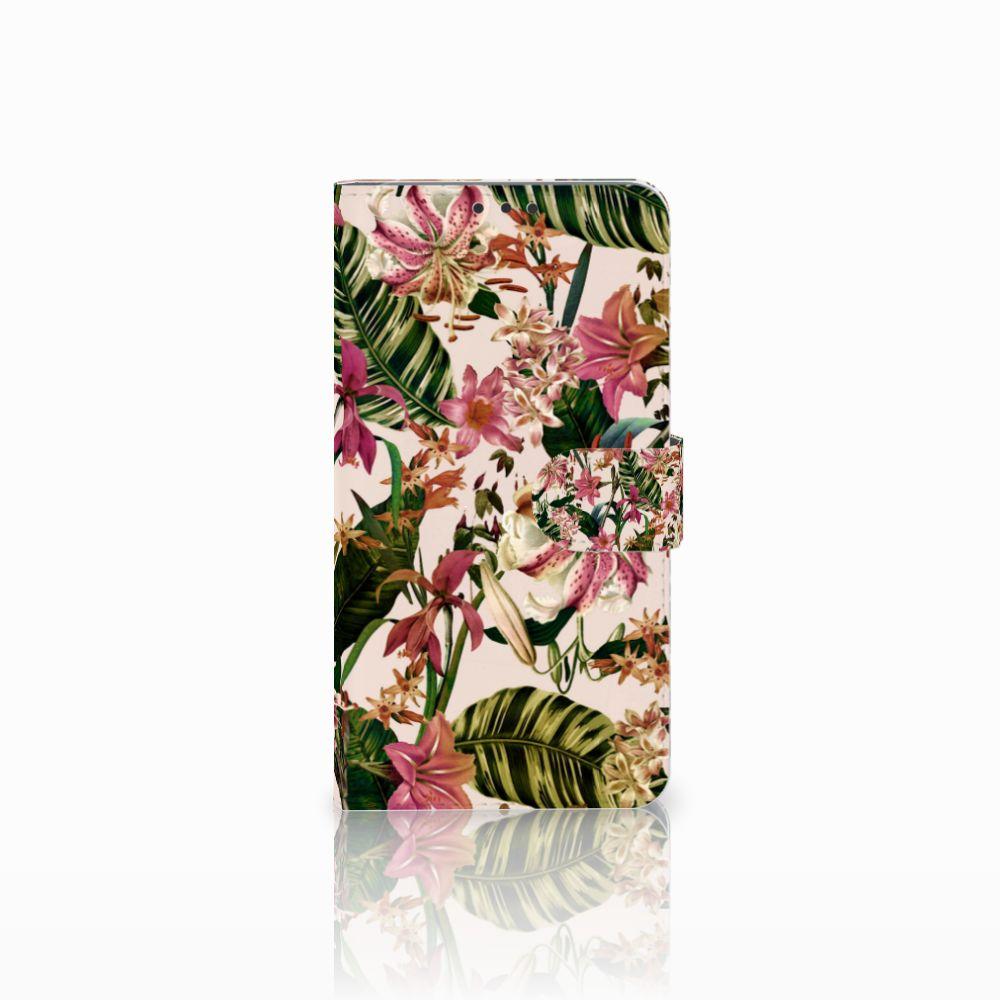 Microsoft Lumia 640 XL Uniek Boekhoesje Flowers