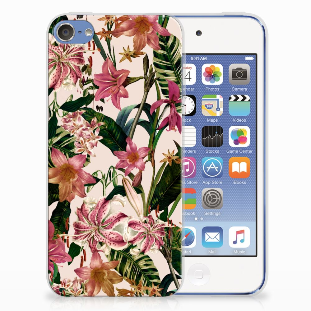 Apple iPod Touch 5 | 6 TPU Case Flowers