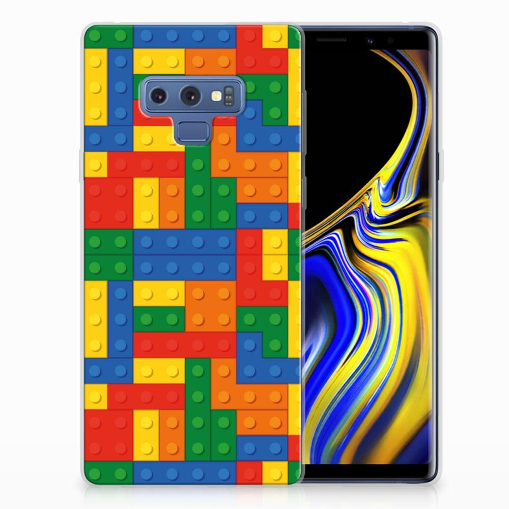 Samsung Galaxy Note 9 TPU Hoesje Design Blokken