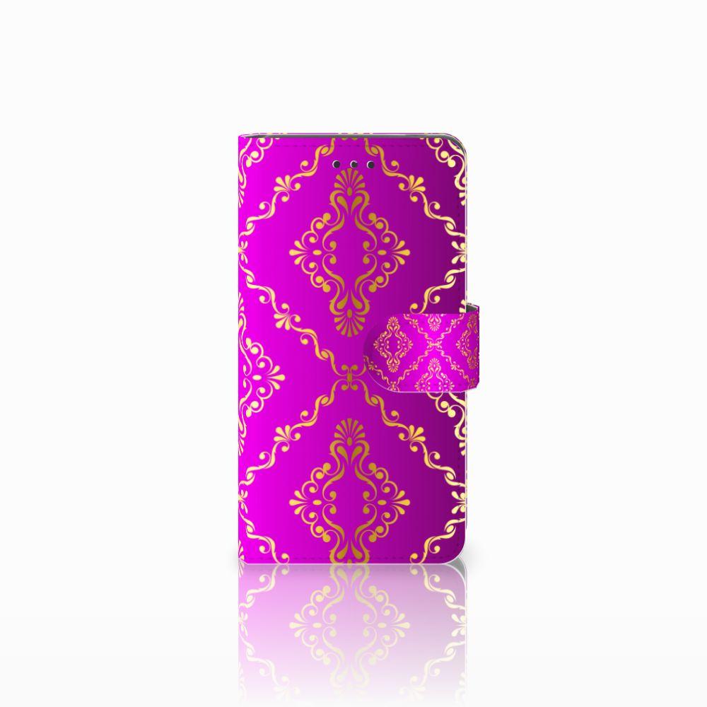 Nokia 7 Uniek Boekhoesje Barok Roze