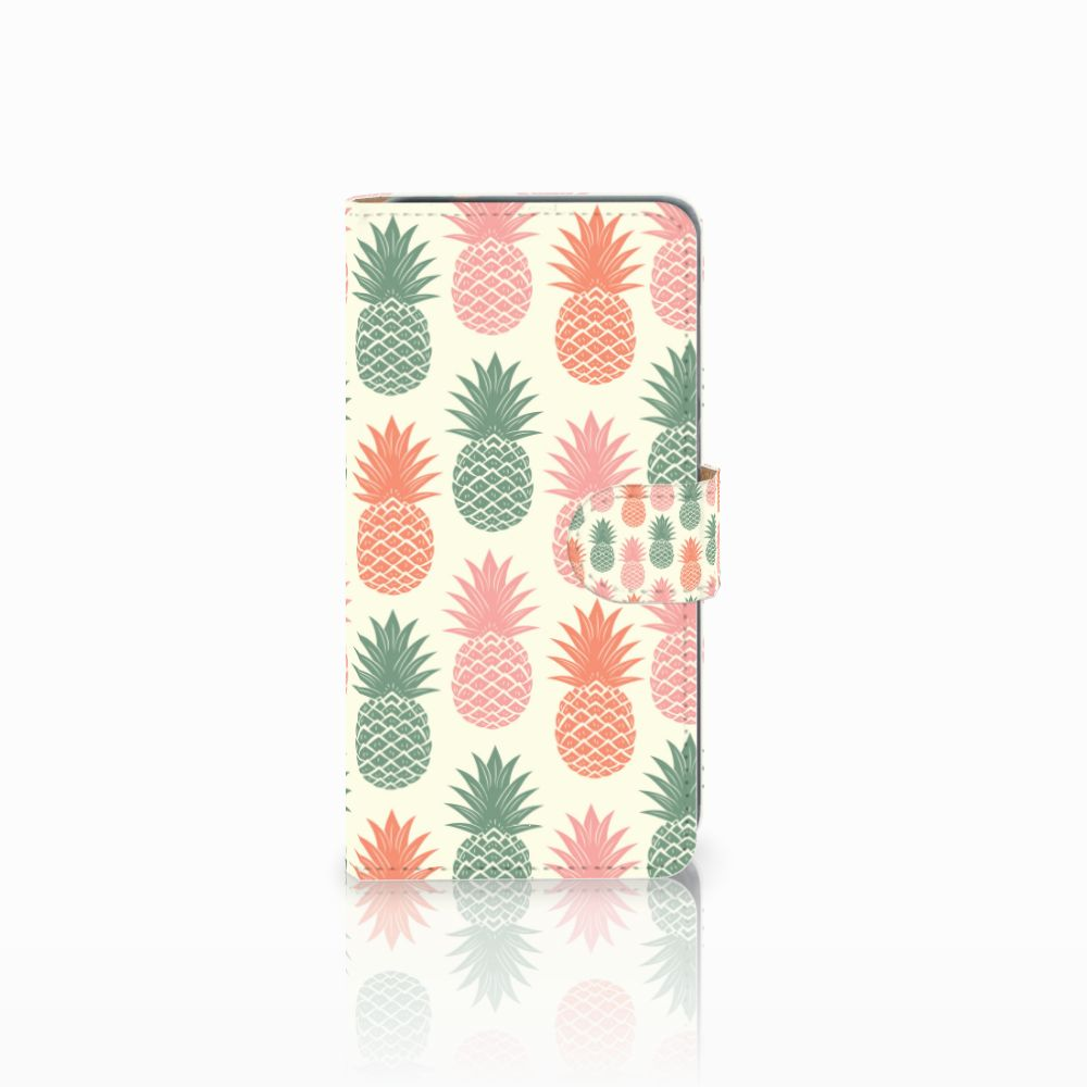 Huawei P8 Lite 2017 Boekhoesje Design Ananas