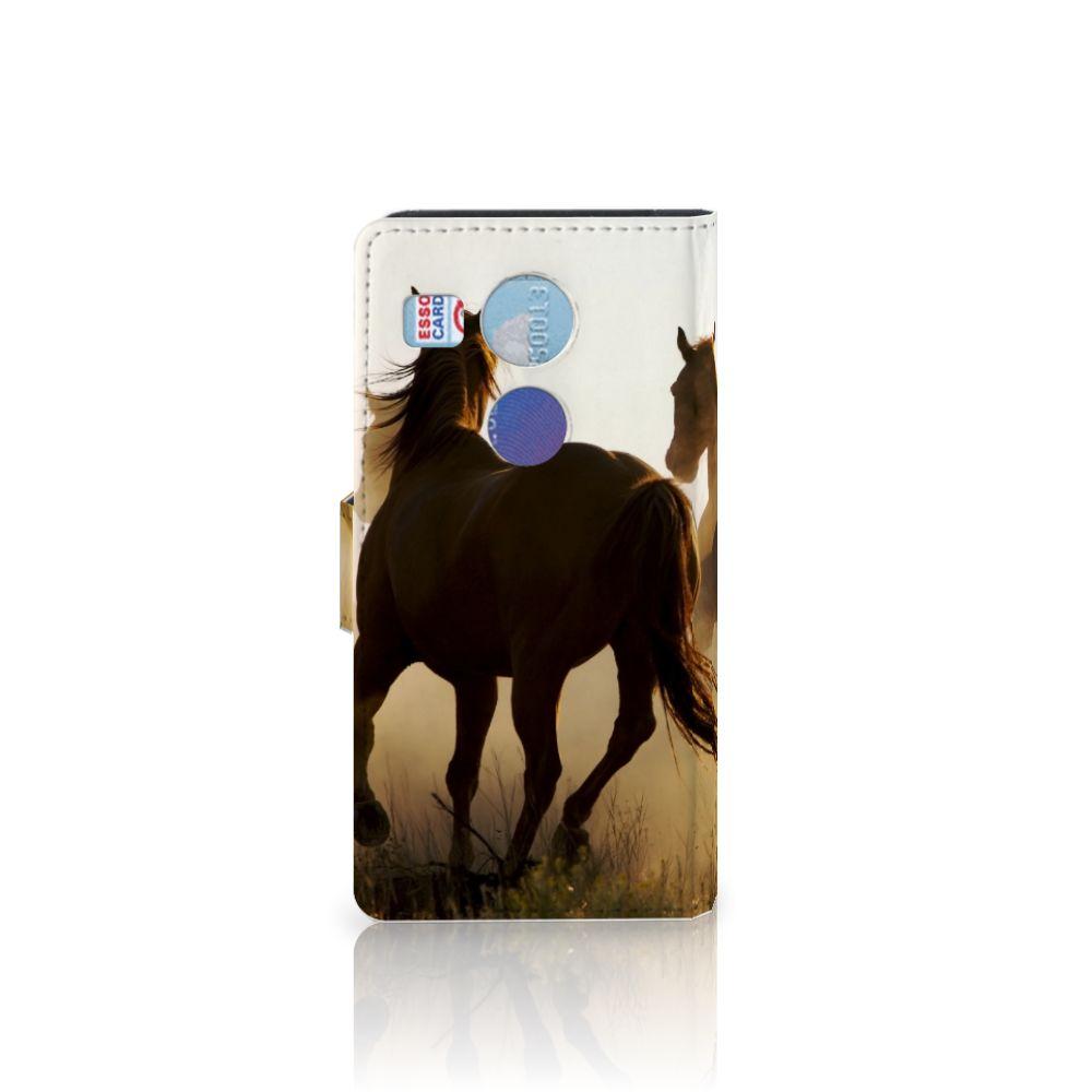 LG Nexus 5X Telefoonhoesje met Pasjes Design Cowboy