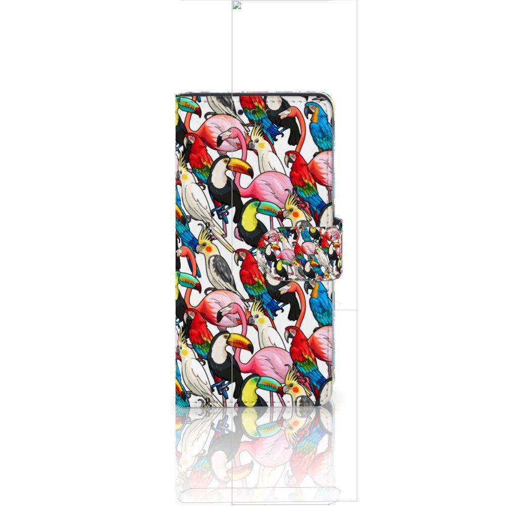 Huawei Ascend P8 Lite Uniek Boekhoesje Birds