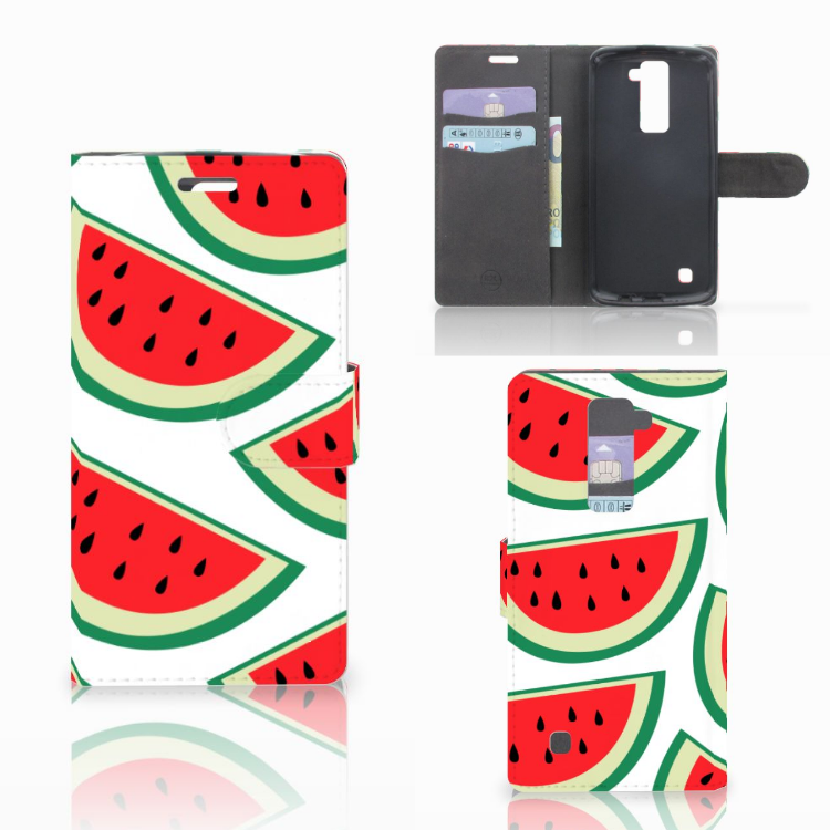 LG K10 2015 Book Cover Watermelons
