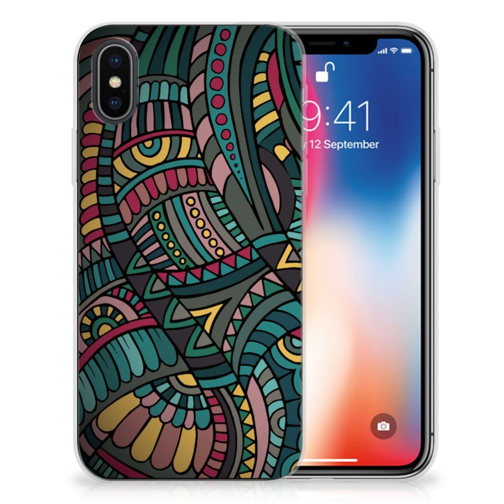Apple iPhone X | Xs TPU Hoesje Design Aztec