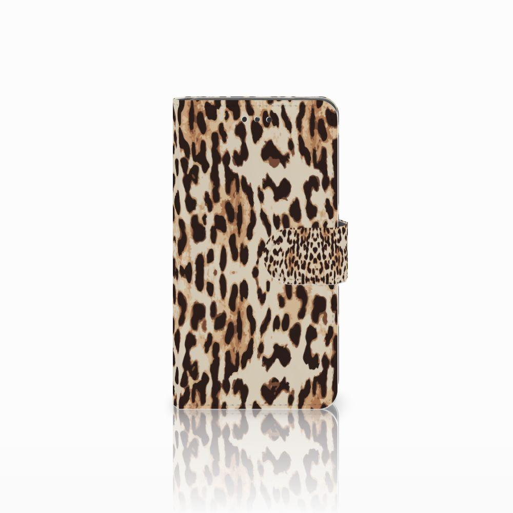 Nokia 7 Uniek Boekhoesje Leopard