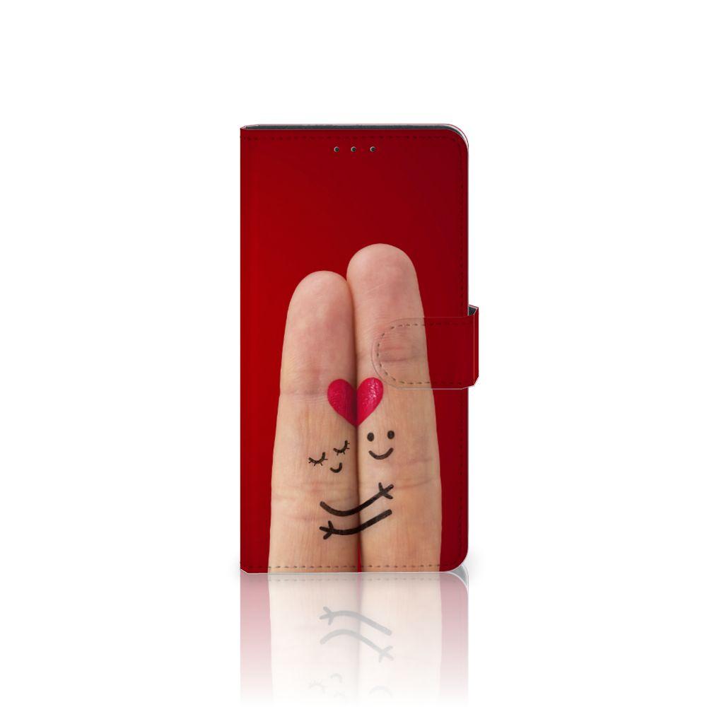 Motorola Moto Z Play Uniek Boekhoesje Liefde