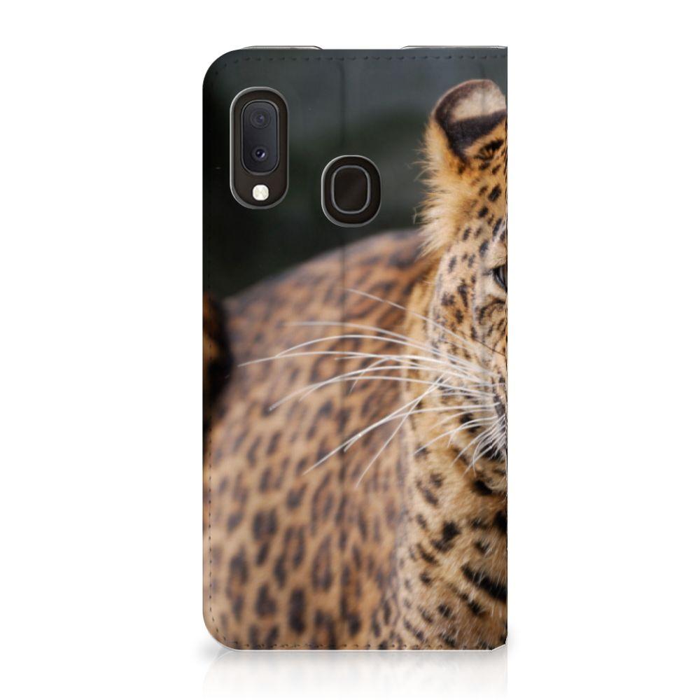 Samsung Galaxy A20e Hoesje maken Luipaard