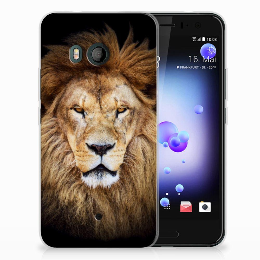HTC U11 TPU Hoesje Design Leeuw