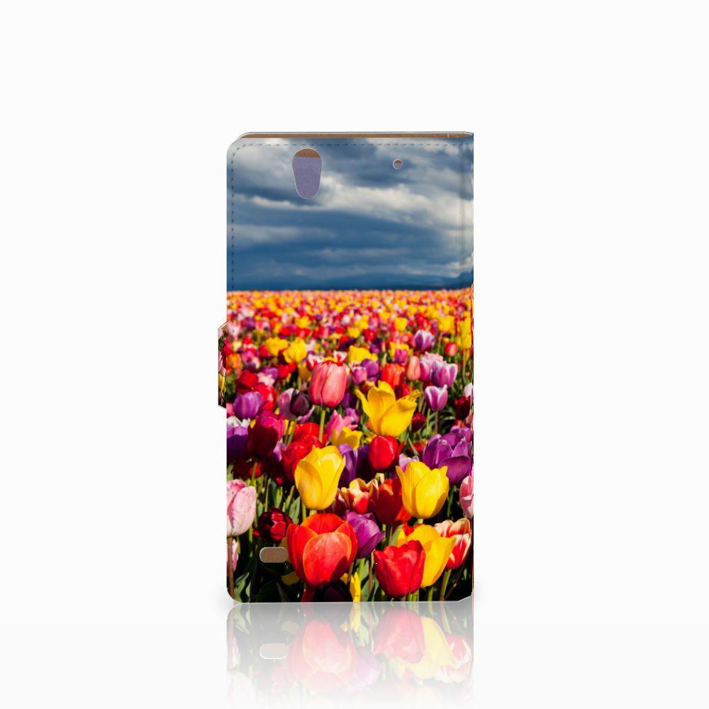 Sony Xperia C4 Hoesje Tulpen