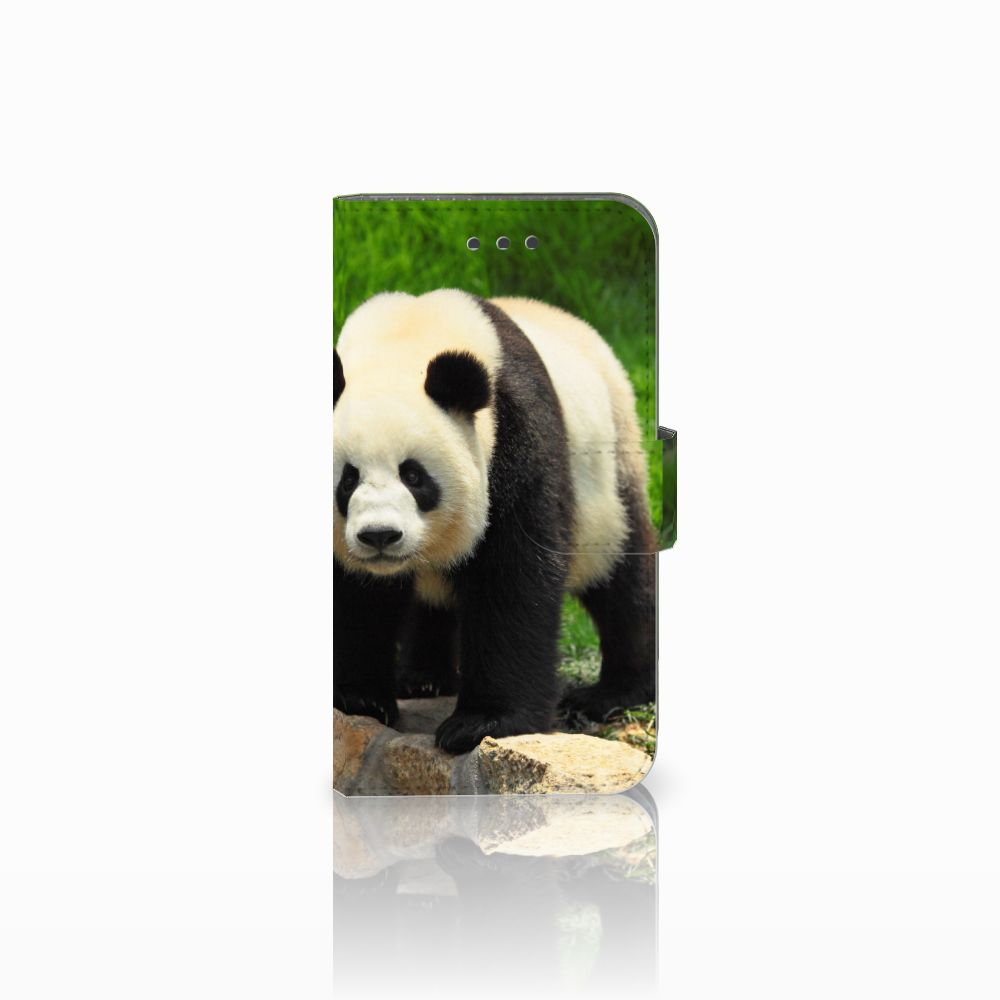 Samsung Galaxy Xcover 3 | Xcover 3 VE Telefoonhoesje met Pasjes Panda