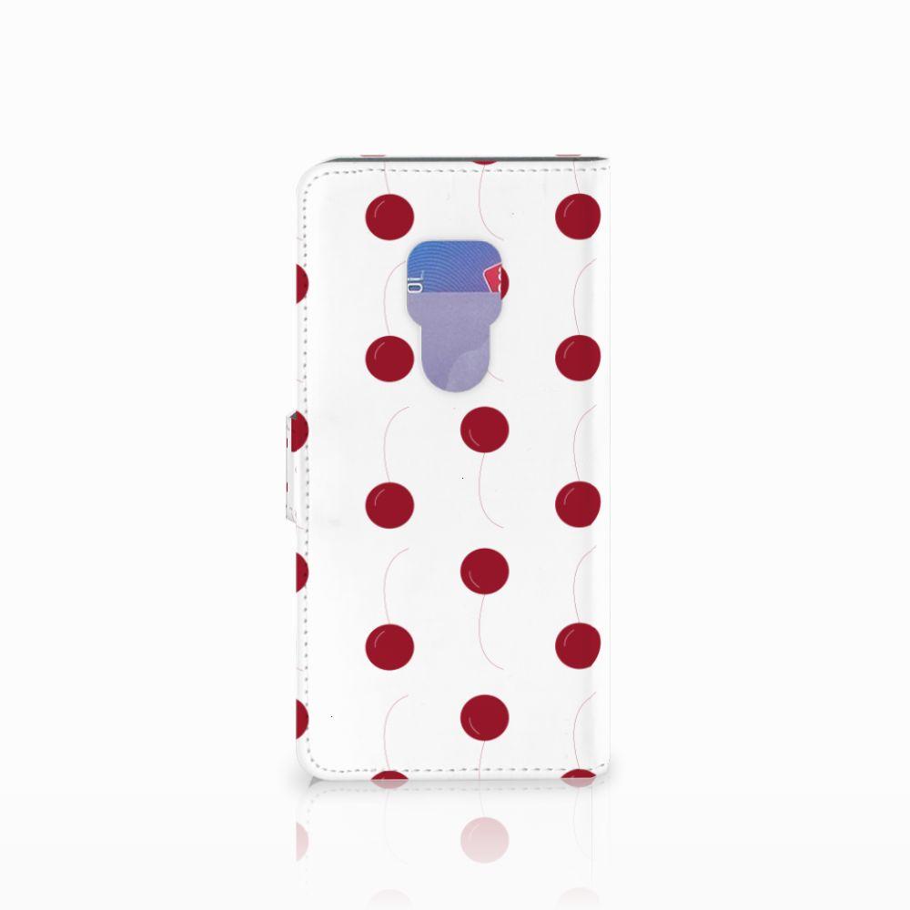 Huawei Mate 20 Book Cover Cherries