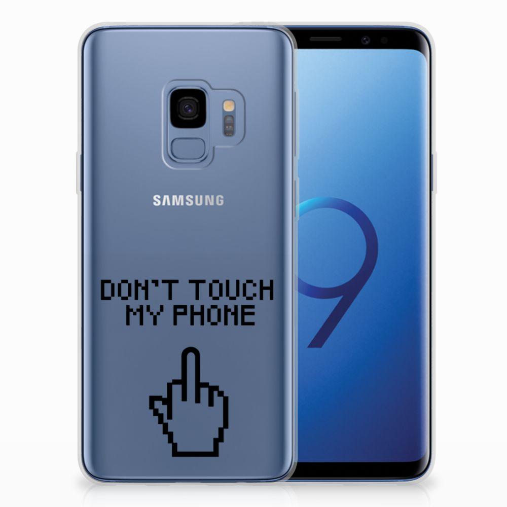 Samsung Galaxy S9 Uniek TPU Hoesje Finger DTMP