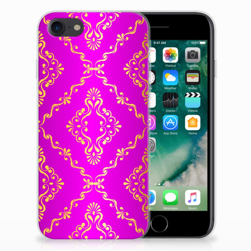 Siliconen Hoesje Apple iPhone 7 | 8 Barok Roze