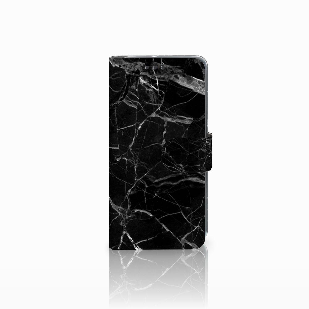 HTC U11 Life Uniek Boekhoesje Marmer Zwart