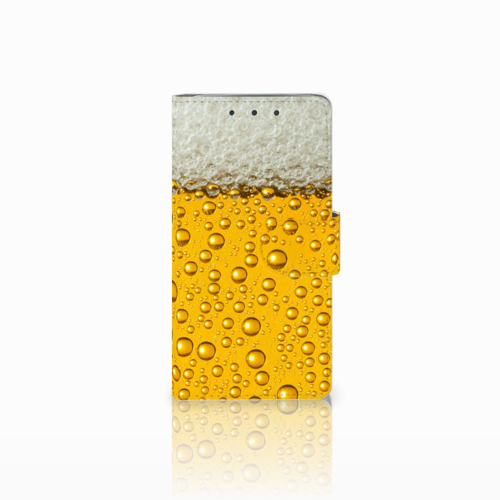 HTC One M7 Uniek Boekhoesje Bier