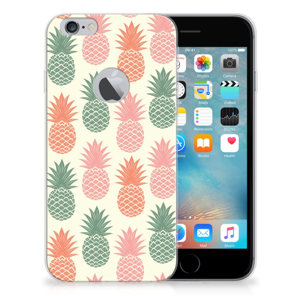 Apple iPhone 6 Plus | 6s Plus TPU Hoesje Design Ananas