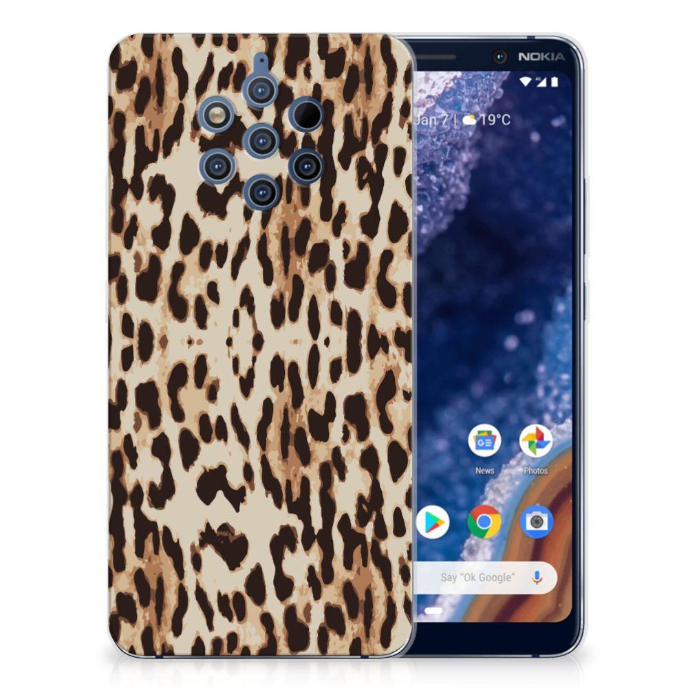 Nokia 9 PureView TPU Hoesje Leopard